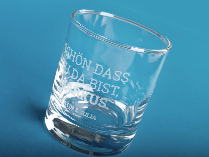 Glasgravur Hochzeit