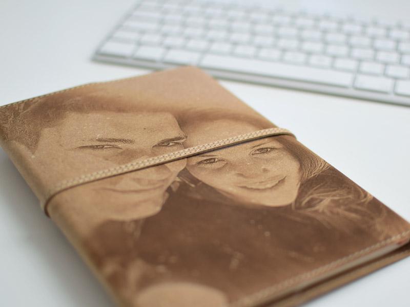 Notizbuch sensebook aus Leder